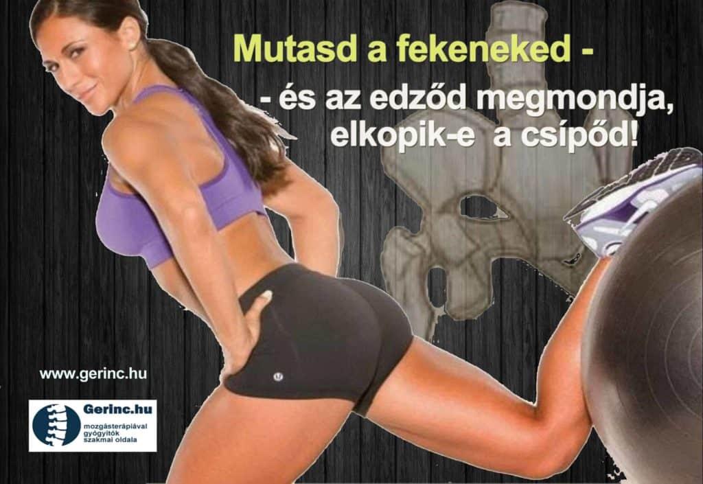 Mutasd a feneked - és az edző megmondja, lesz-e csípőízületi kopásod! 2