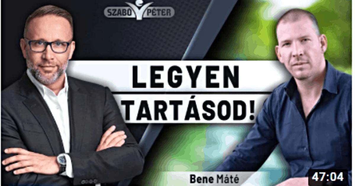 Legyen tartásod - Bene Máté interjú 2